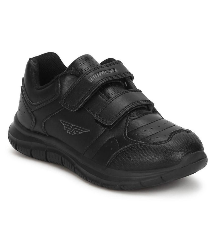 Red Tape Kids Black School Shoes