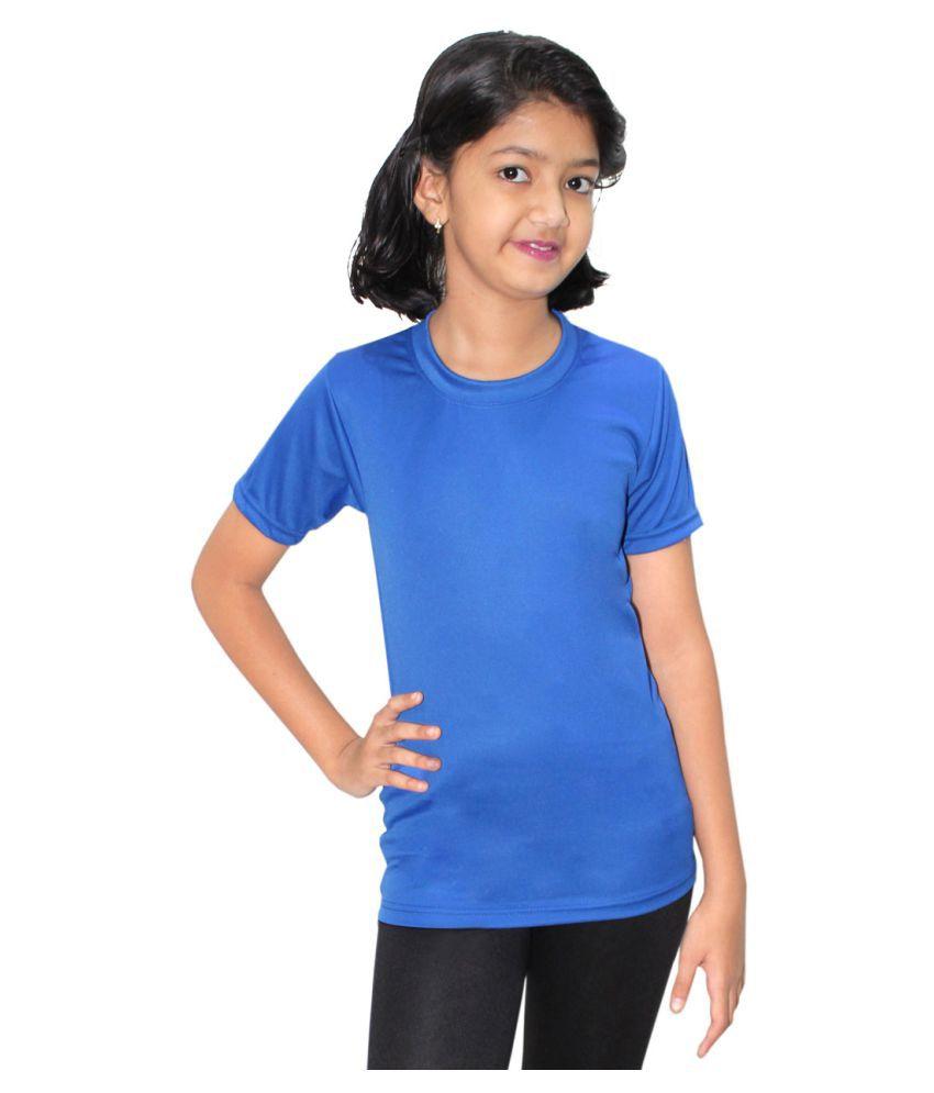 Goodluck Girl's Swimming T-Shirt