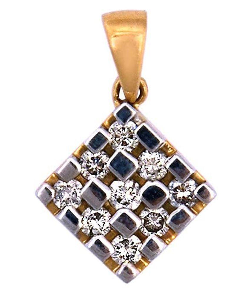 Beautiful Natural Diamond Pendant