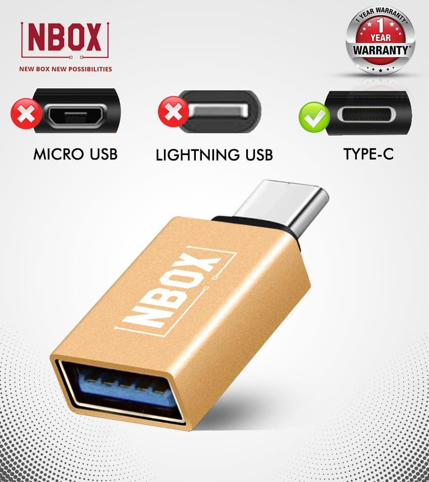 NBOX Type-C OTG Converter for All Smartphones