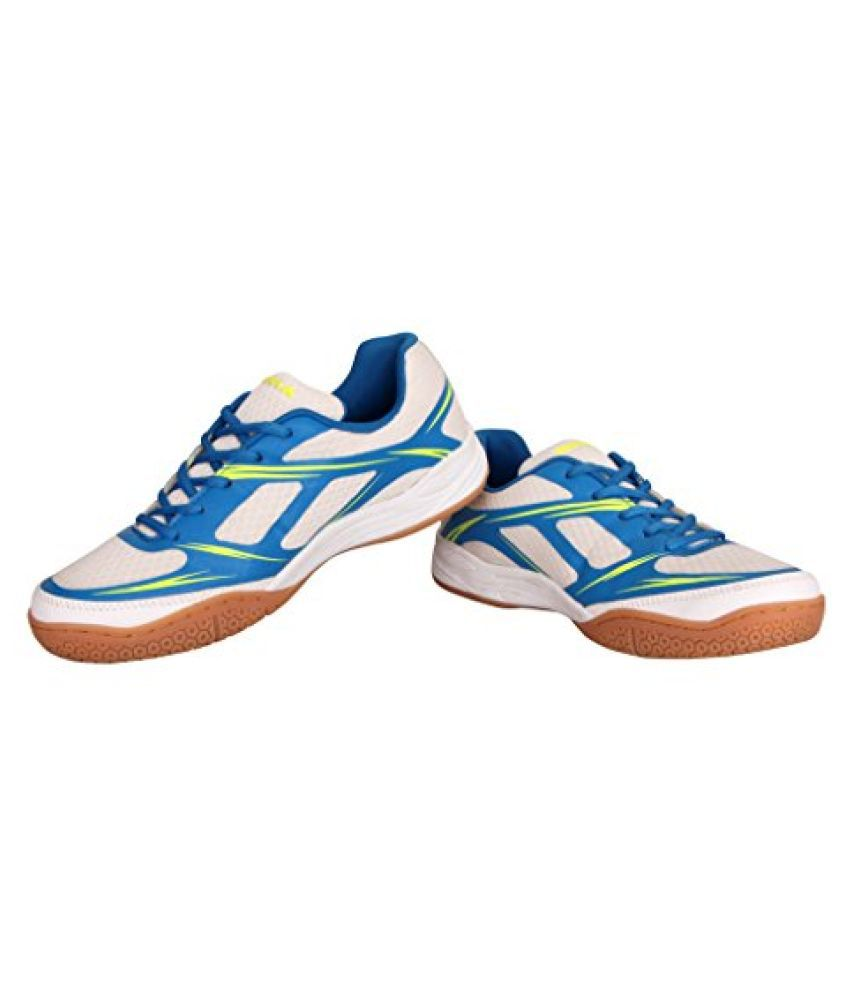 Nivia Super Court Non-Marking White Unisex