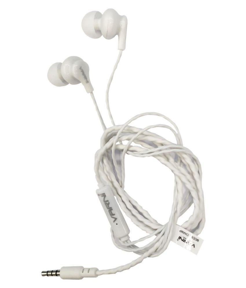 Varni VR CH07 In Ear Wired With Mic Headphones/Earphones