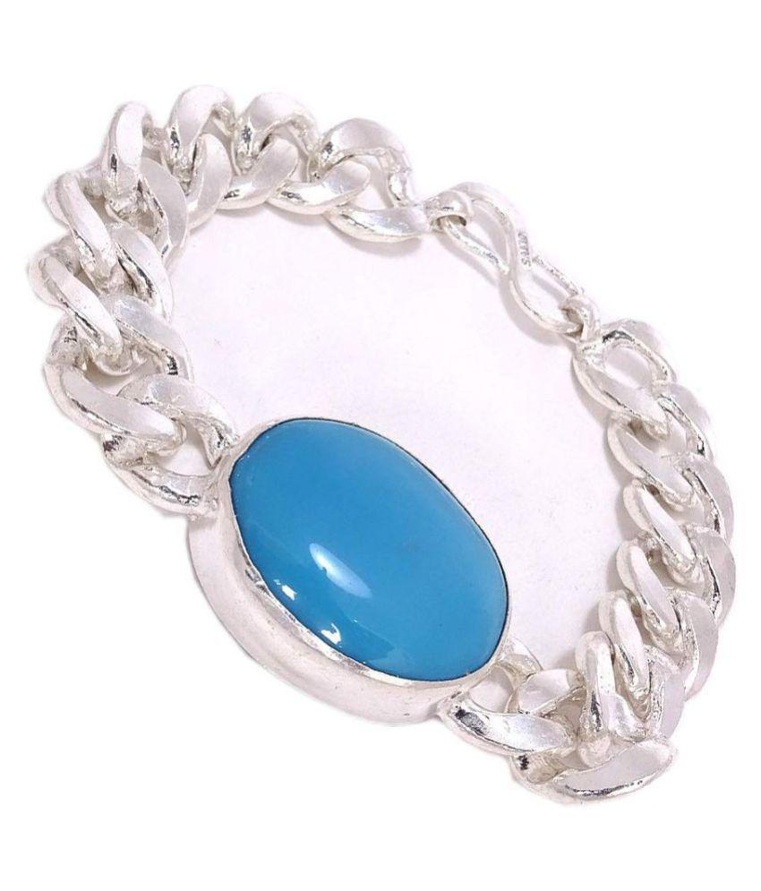 Salman Khan Turquoise Brass Bracelet for Men & Women By Ratan Bazaar
