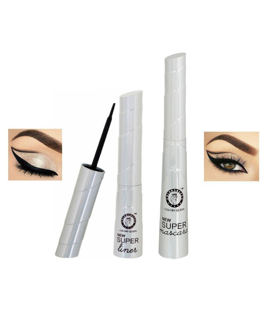 Colors Queen Eyeliner & Mascara Black