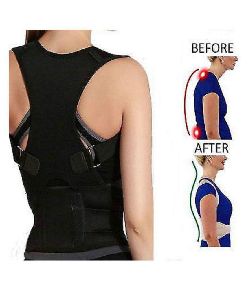 SELVA FRONT Posture Spine Magnetic Lumbar Correction Belt Free Size