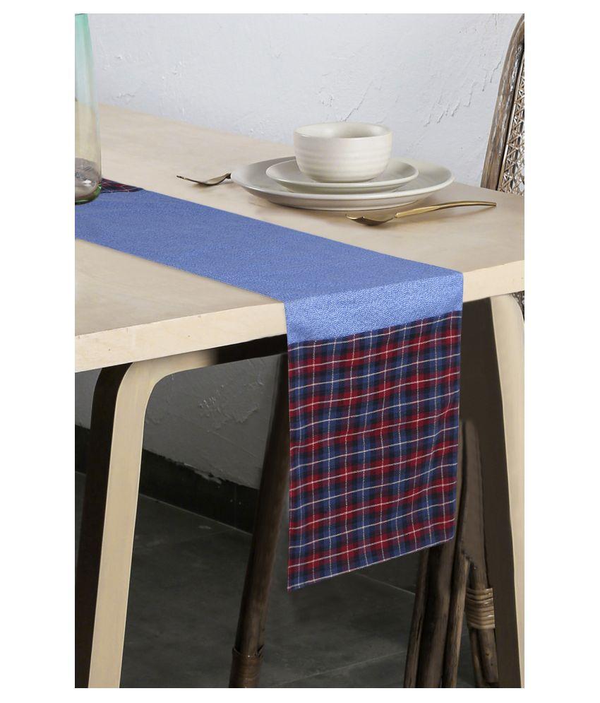 mezposh 6 Seater Polycotton Single Table Runner