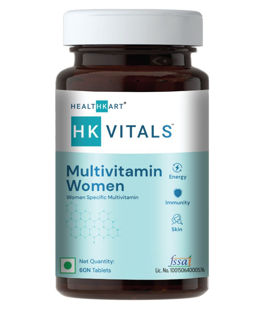 HealthKart Multivitamin Women 60 no.s Multivitamins Tablets