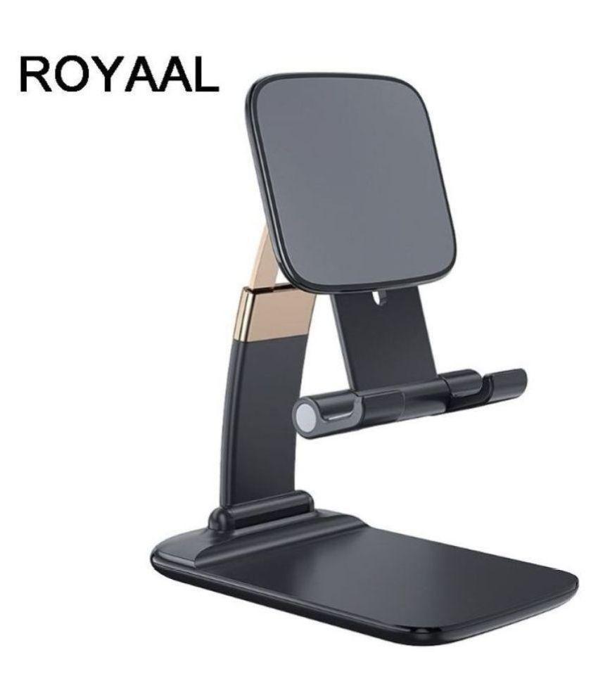 ROYAAL Multipurpose Folding Gravity Desktop Support Mobile Phone Tablet Holder Rotatable Phone Stand