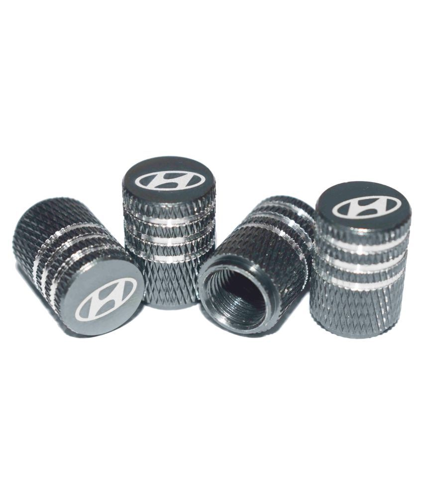 INCOGNITO Tyre Valve Caps Hyundai Set of 4