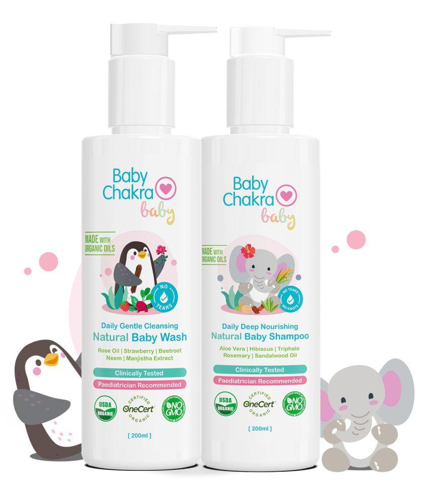 Babychakra Natural Baby Kit 400 mL Pack of 2