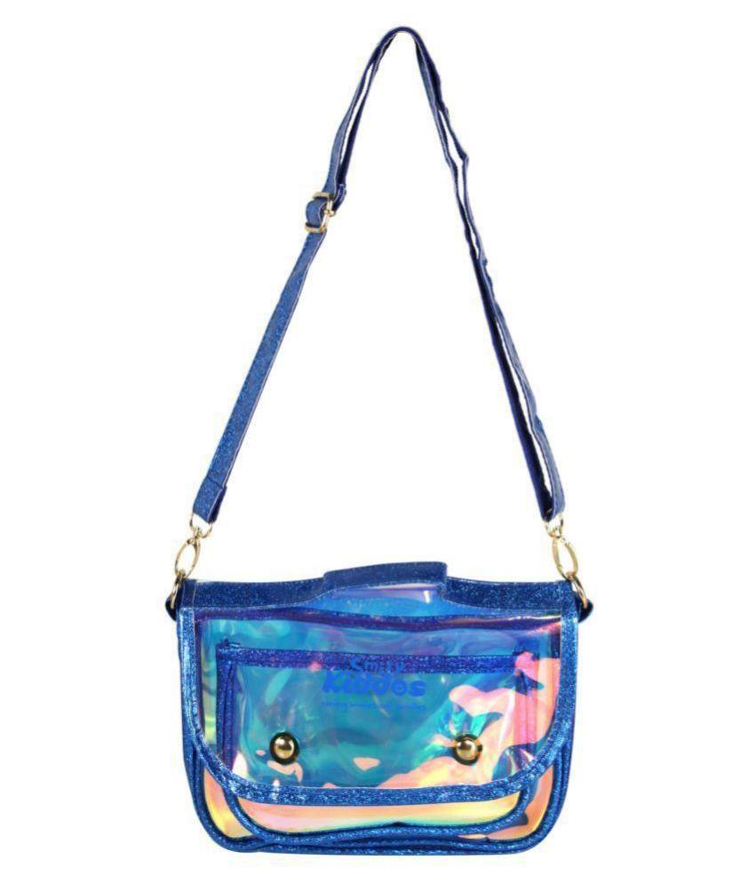 Smily Kiddos 5 Ltrs Fancy Transparent Sling Bag