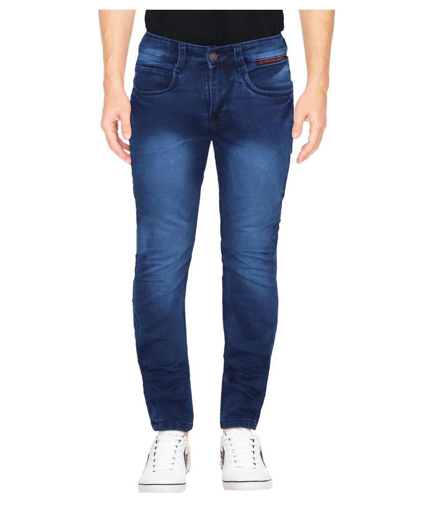 HYMEN LEGIONS Blue Regular Fit Jeans