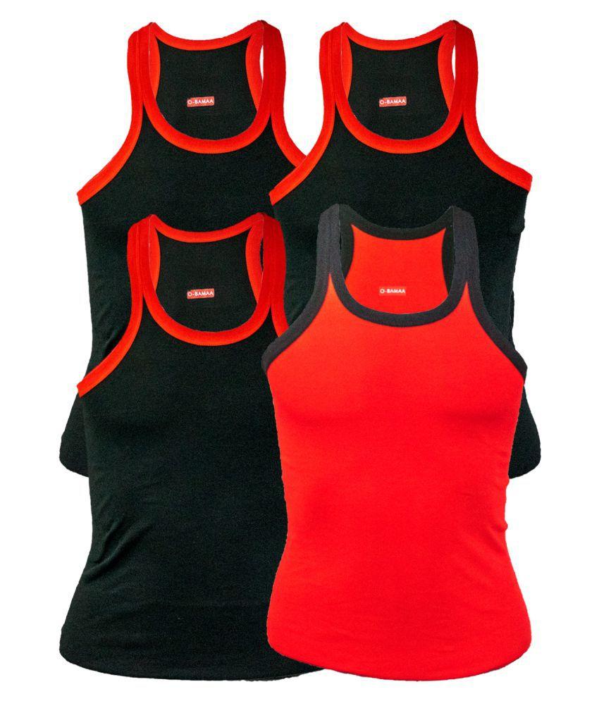 Rupa Multi Sleeveless Vests Pack of 4