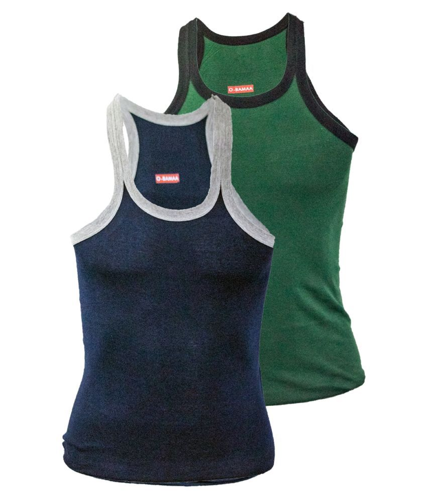 Rupa Multi Sleeveless Vests Pack of 2