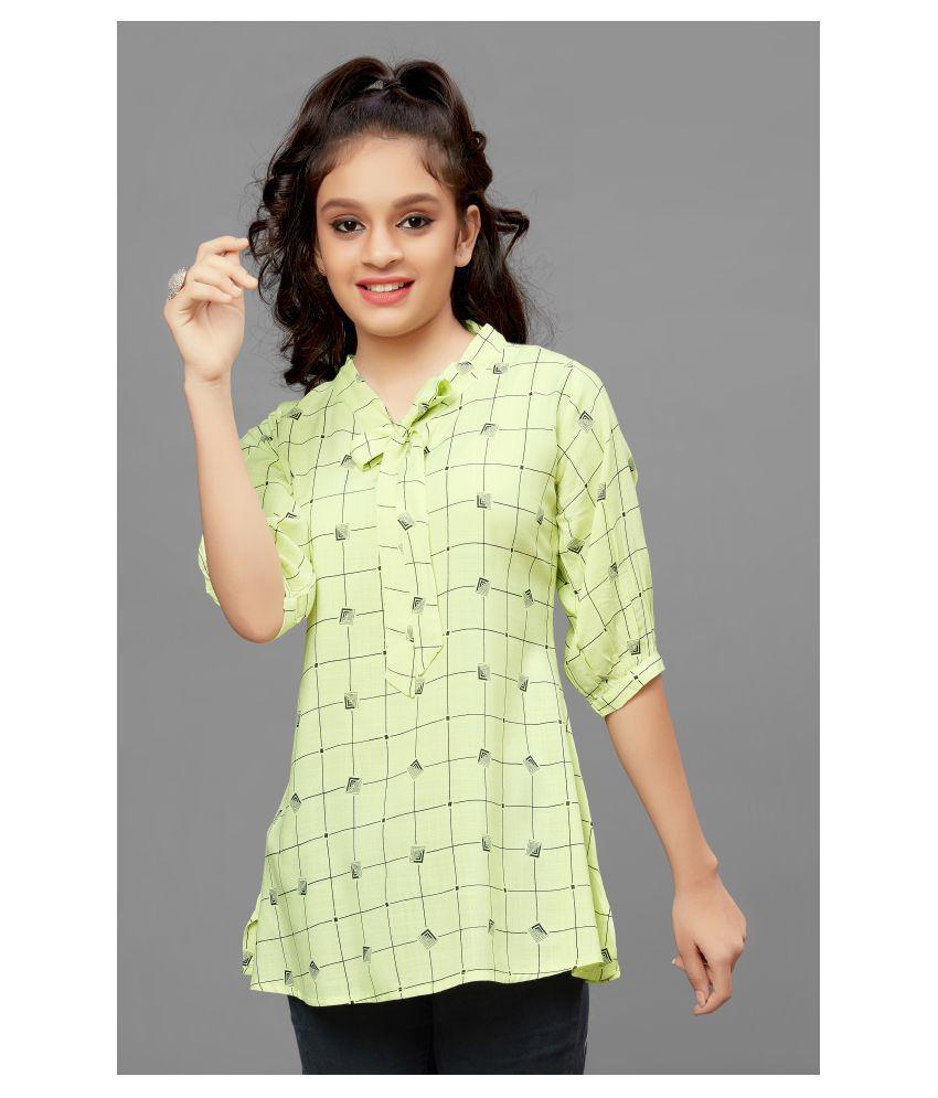 Fashion Dream Girls Mini/Short Casual Dress Tunic/Top