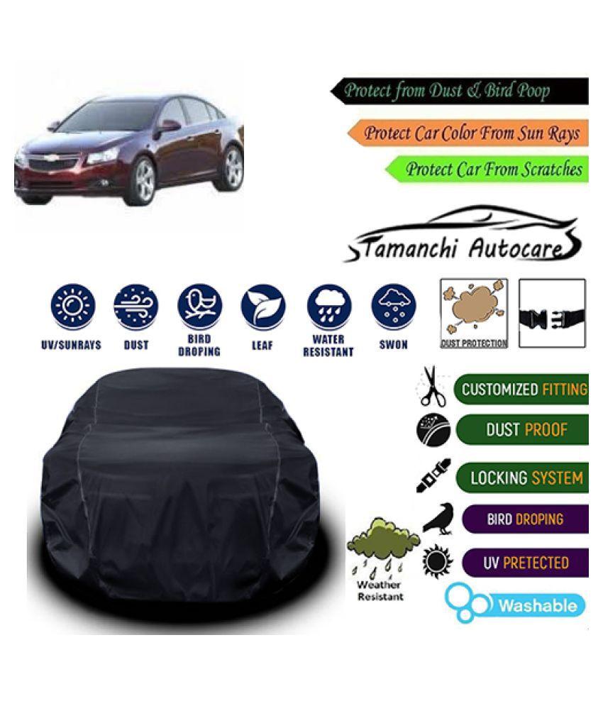 Tamanchi Autocare Car cover for Chevrolet Cruze [2009-2012] Black