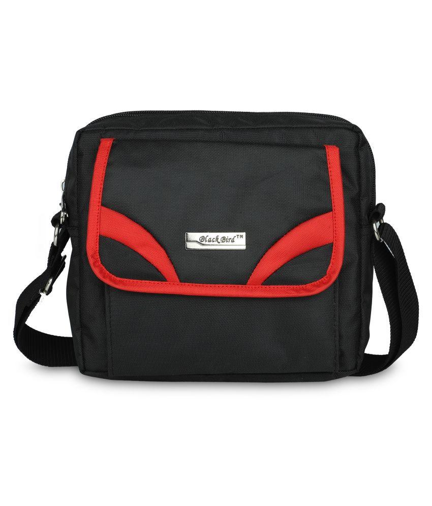 Black Bird™ Sling Bag for Men Women Nylon Stylish Small Cross Body for Traveler multipurpose Bag