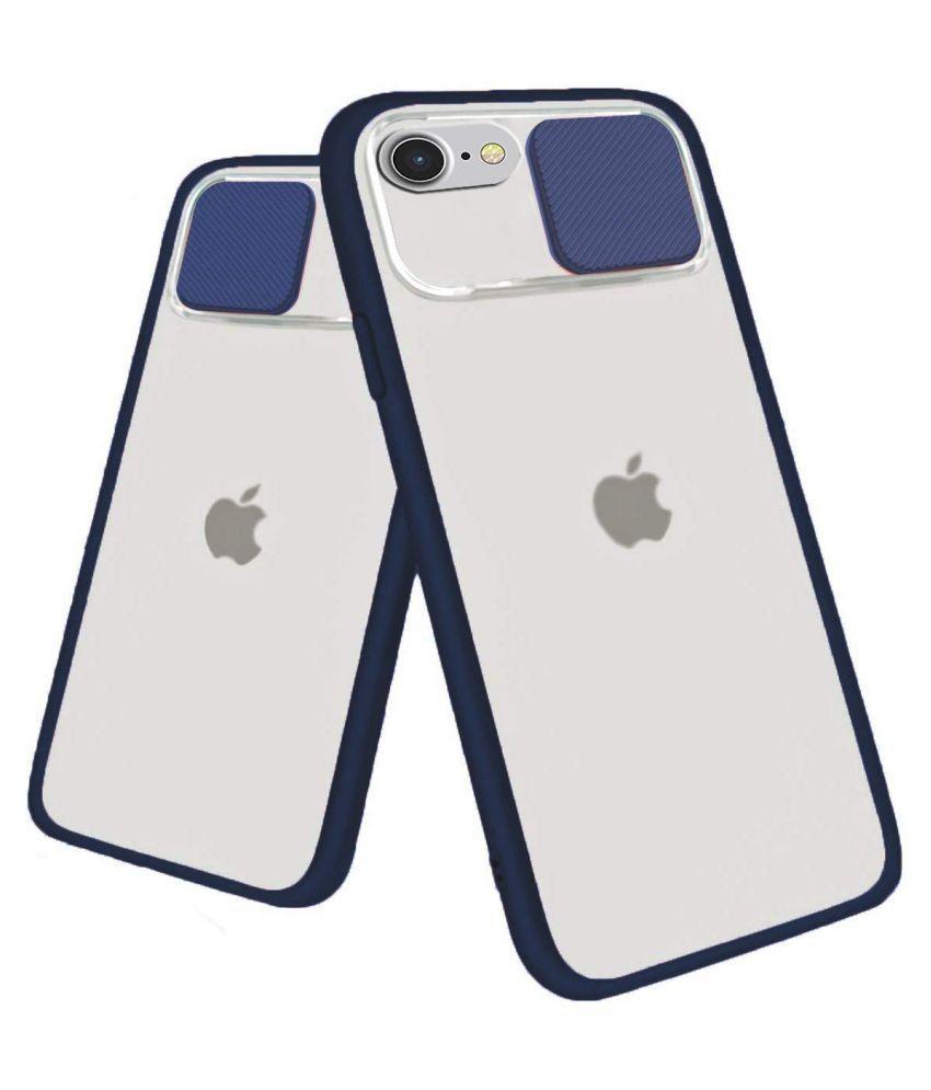 Apple Iphone 6S Hybrid Covers KOVADO   Blue Shutter Case Translucent