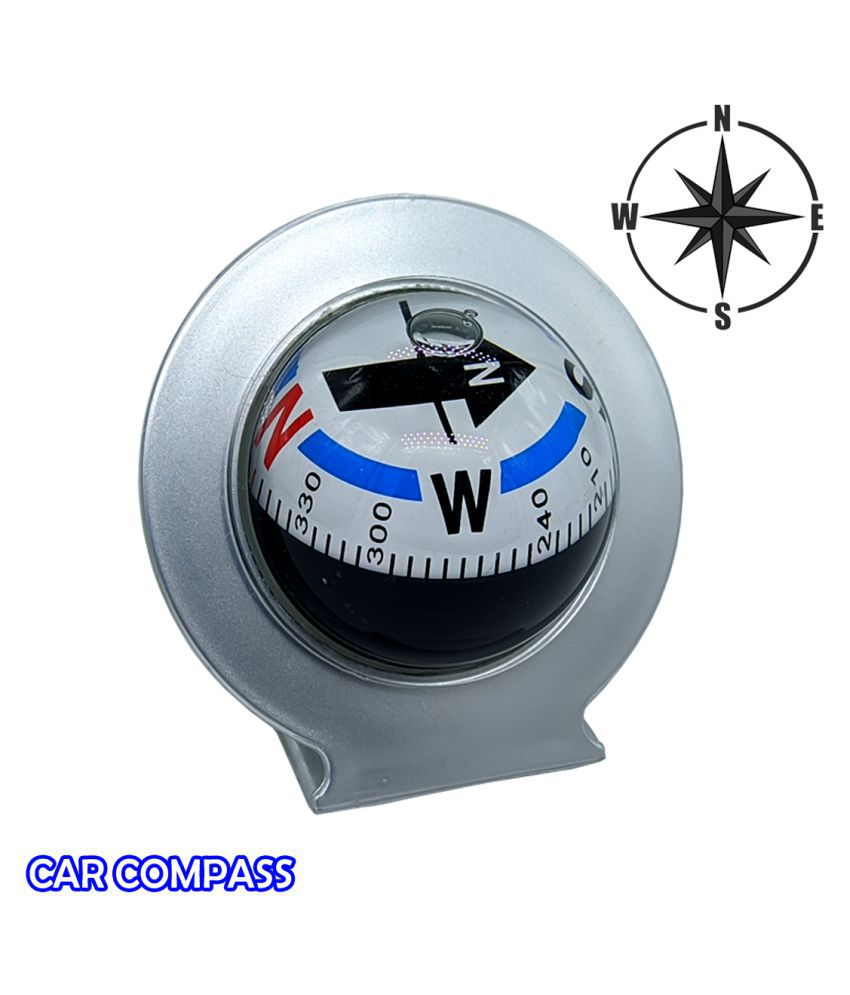 Waterproof High Accuracy Military Outdoor Camping Hiking Travel Multi-functional Magnetic Car Dashboard Compass
