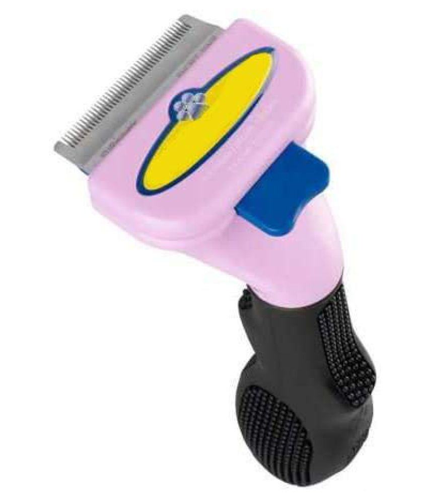 Emily Pets Short Hair deShedding Tool for Cats, Violet Small