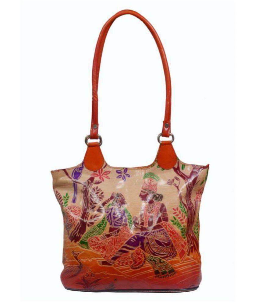 Zint Multi Pure Leather Tote Bag