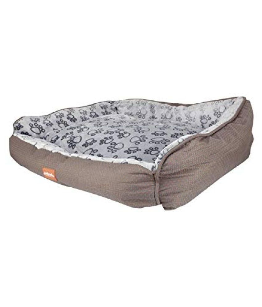 Emily Pets Self Warming Pet Bed Dog Cat Plush Rectangle Nest Puppy Sleeping Bag Multicolor