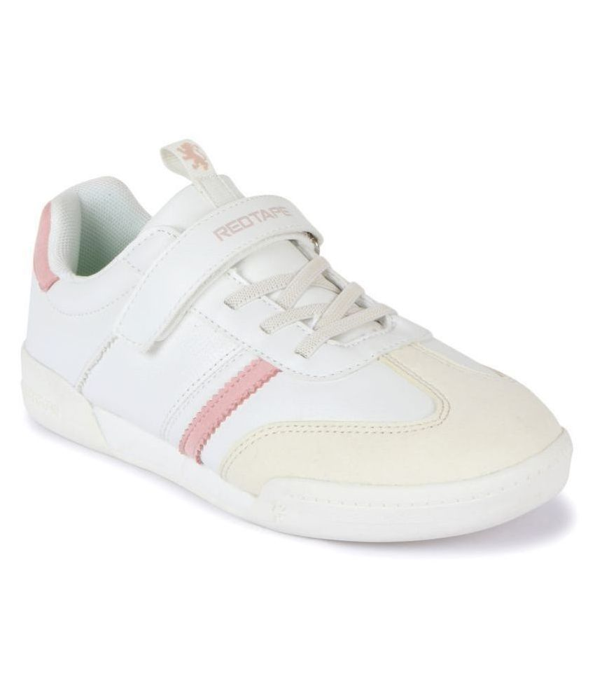 Red Tape Kids Off-White Sneakers