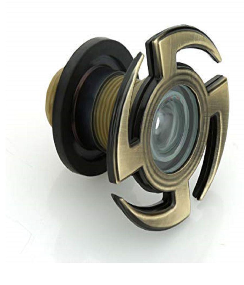 Eyeberry Swastik Design 180 Degree Door Eye Viewer Crystal Ultra Clear Lens for Safe Secure Home