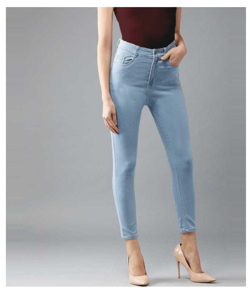 Broadstar Denim Lycra Jeans - Blue