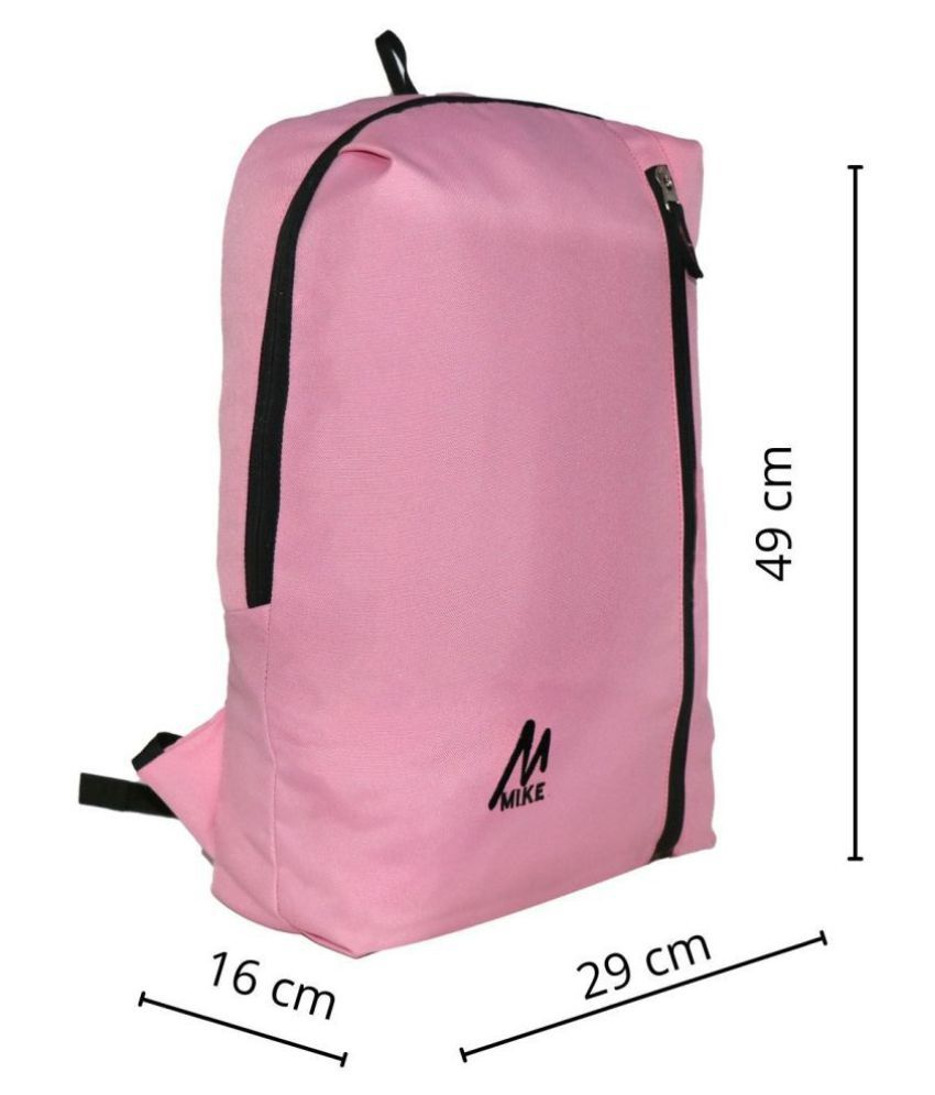 MIKE LIGHT PINK Backpack