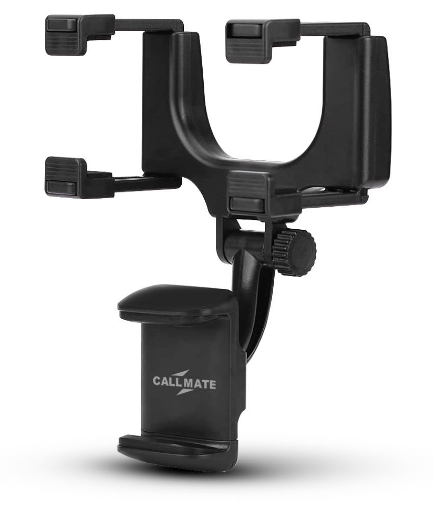 Callmate Car Mobile Holder Horizontal Clip for Other Surfaces - Black