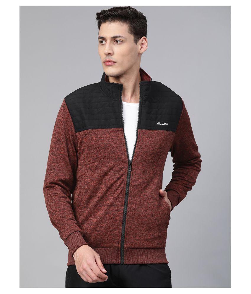 Alcis Orange Polyester Jacket