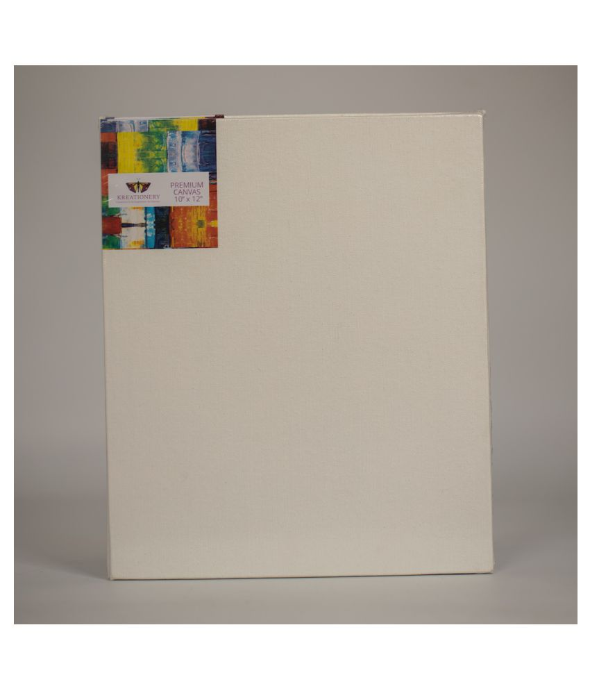 3 Pack of 10X12 Inch Canvas on Panel Board
