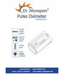 Dr. Morepen Dr. Morepen Pulse Oximeter PO-12A Finger Tip