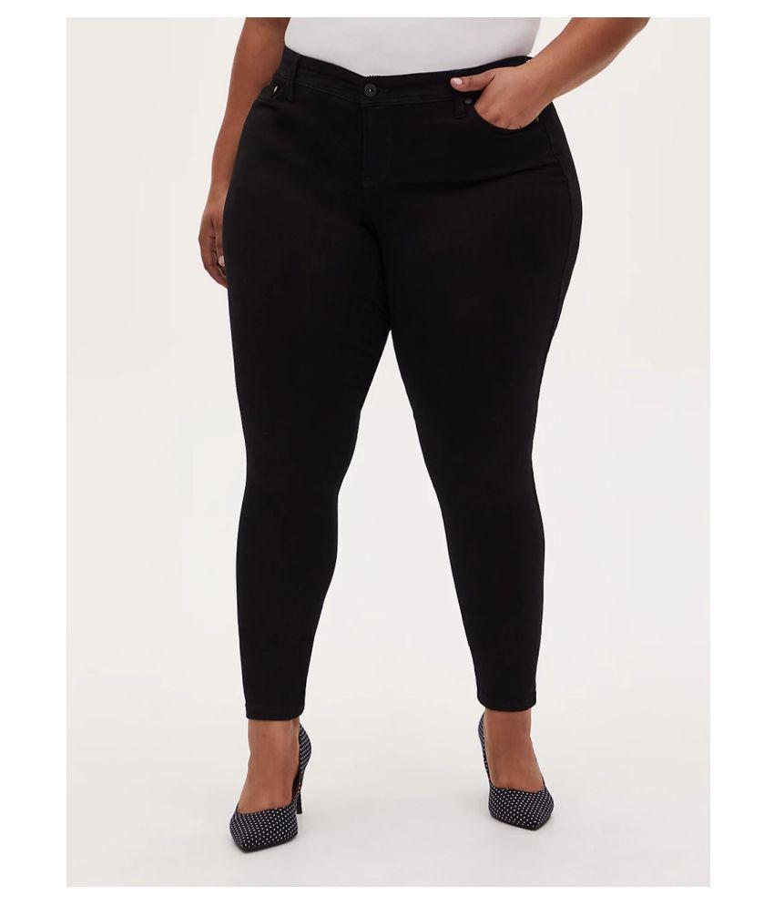 Broadstar Cotton Lycra Jeans - Black