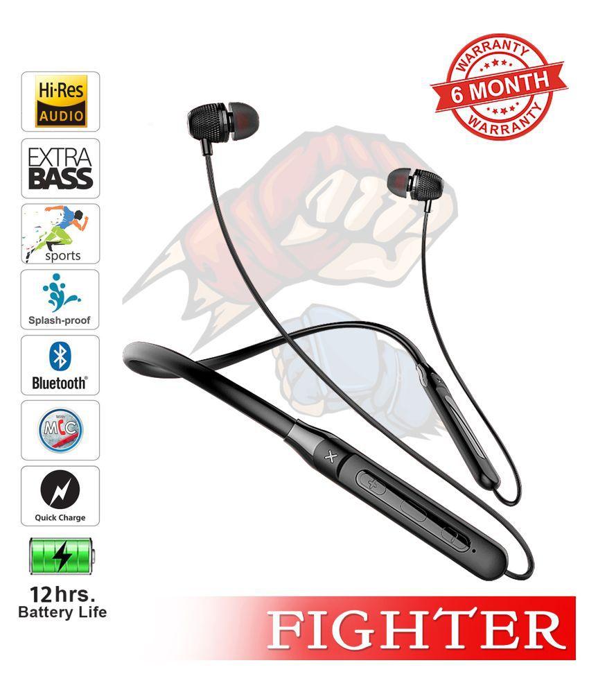 TUNE AUDIO U&I FIGHTER Neckband Wireless With Mic Headphones/Earphones