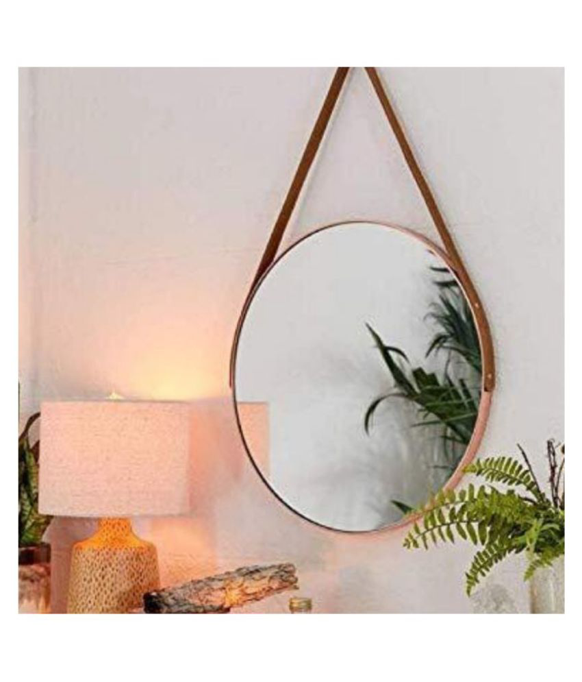 CasaGold Mirror Wall Mirror Gold ( 51 x 51 cms ) - Pack of 1