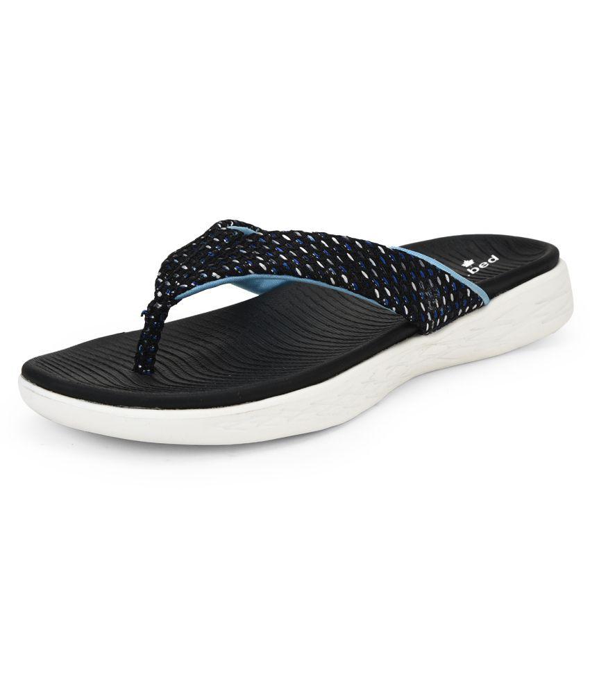 Skora Navy Slippers