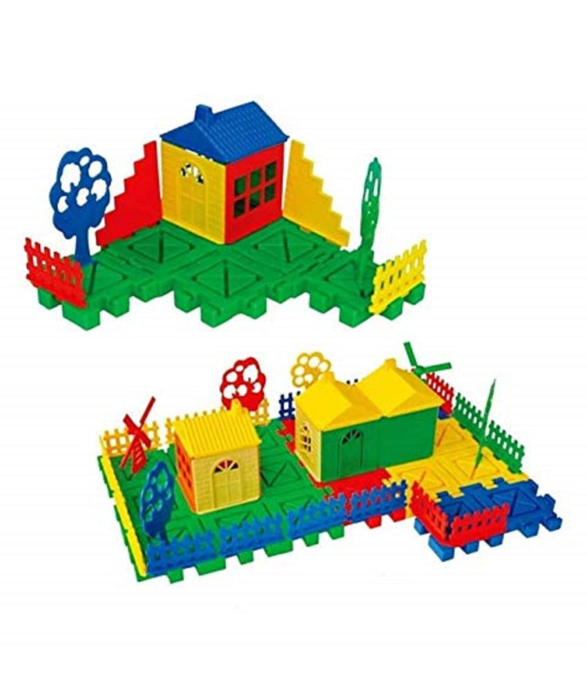 VBE Building Block Educational Learning Toys My Dream House Puzzle Set, Best for Mind Development Toy