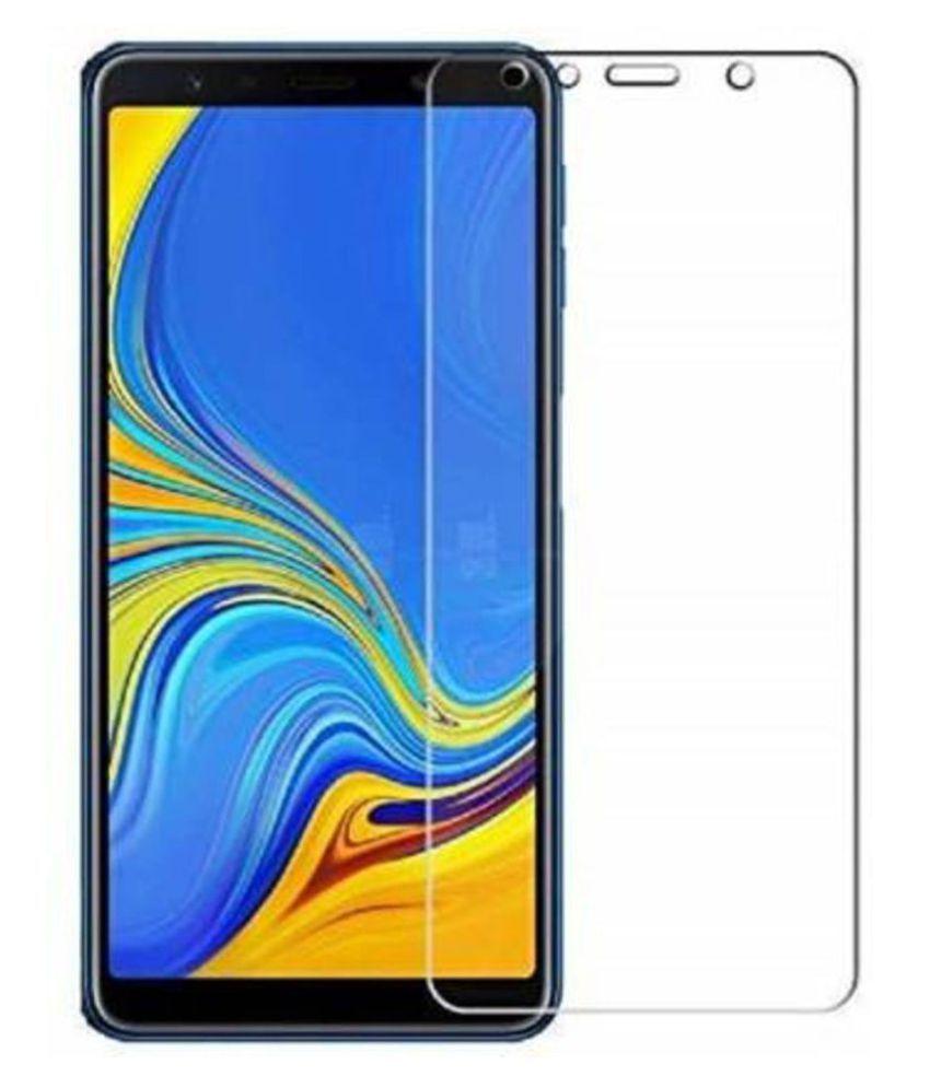 Samsung Galaxy A7 2018 Tempered Glass by EASYKARTZ