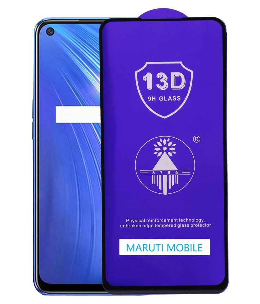 Realme C21 Tempered Glass by maruti mobile
