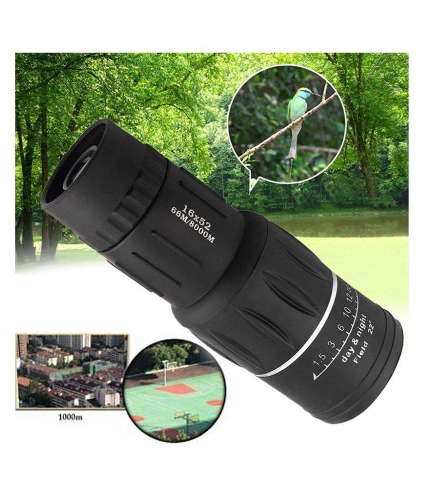 Bushnell 16x52 Monocular Telescope,HD Dual Focus Optics Zoom Portable Binocu