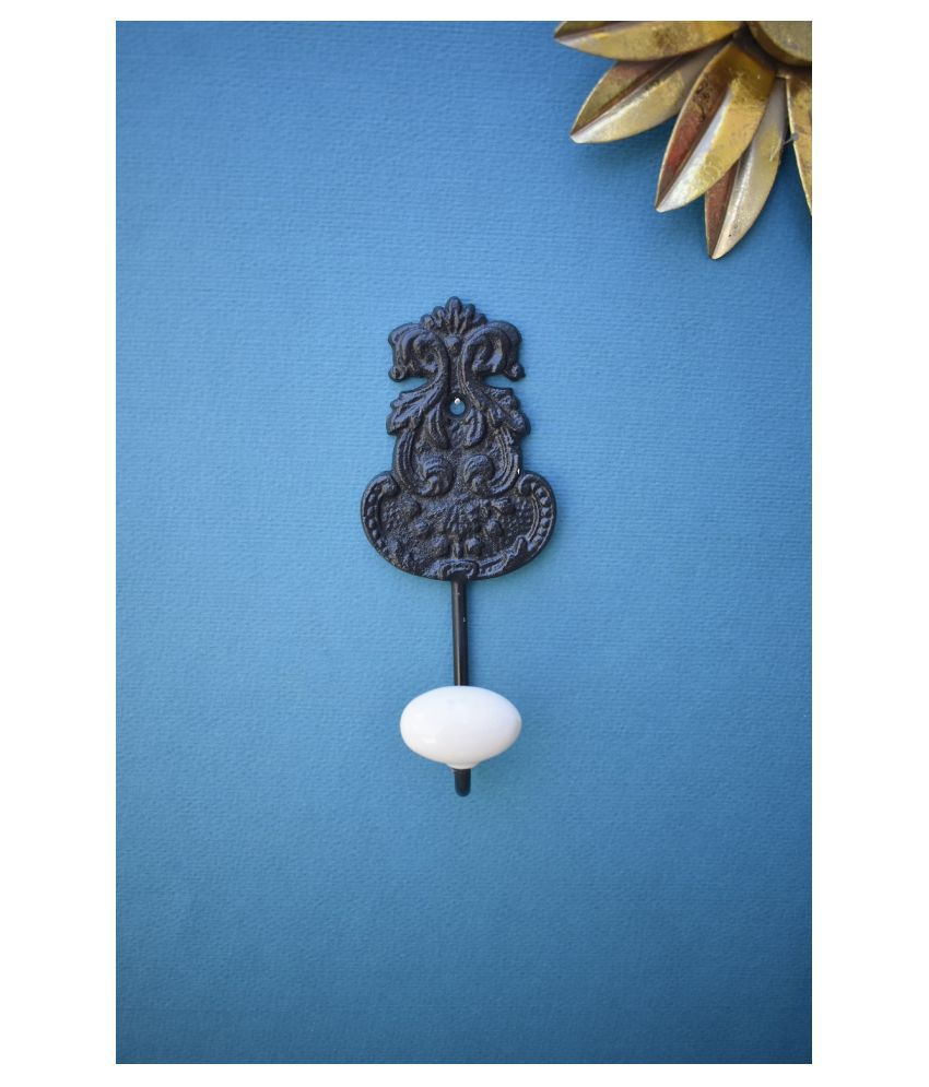Color Palette Cast Iron Wall Hook and Key Holder Hanger For Utility