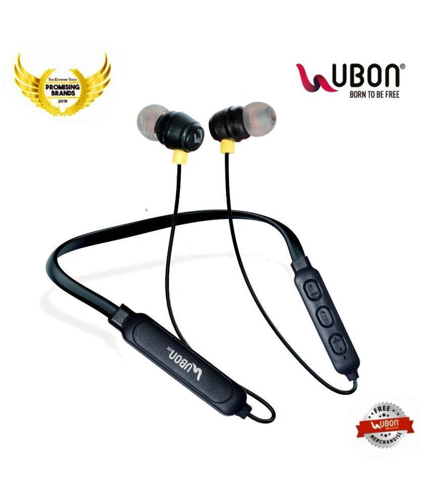 UBON CL125 BLUETOOTH Neckband Wireless With Mic Headphones/Earphones