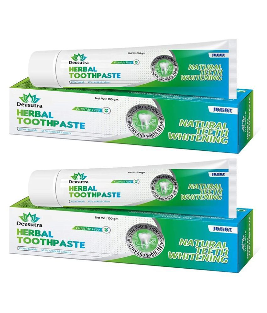 JAGAT - mint Toothpaste 100 gm Pack of 2