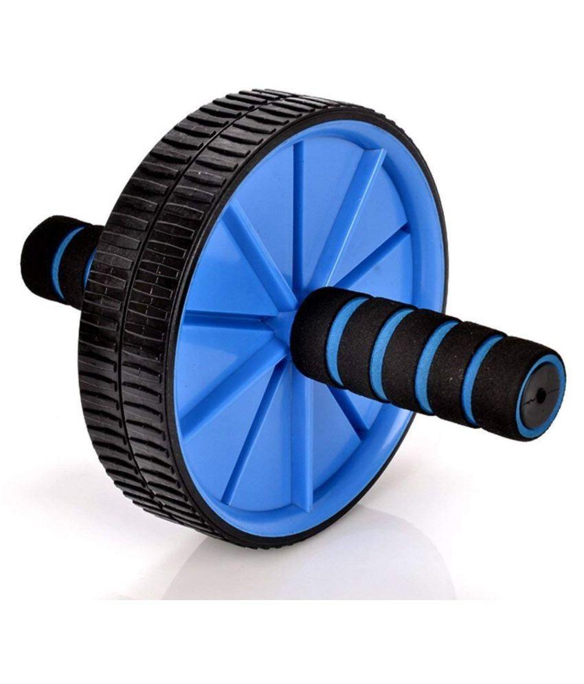 Kiraro Double Exercise Wheel Ab Exerciser  (Blue)
