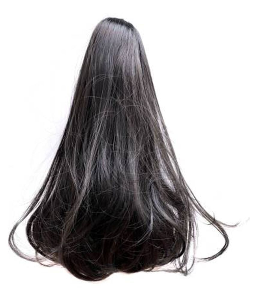 ASG Wavy Clip In Hair Extension Black (1B)