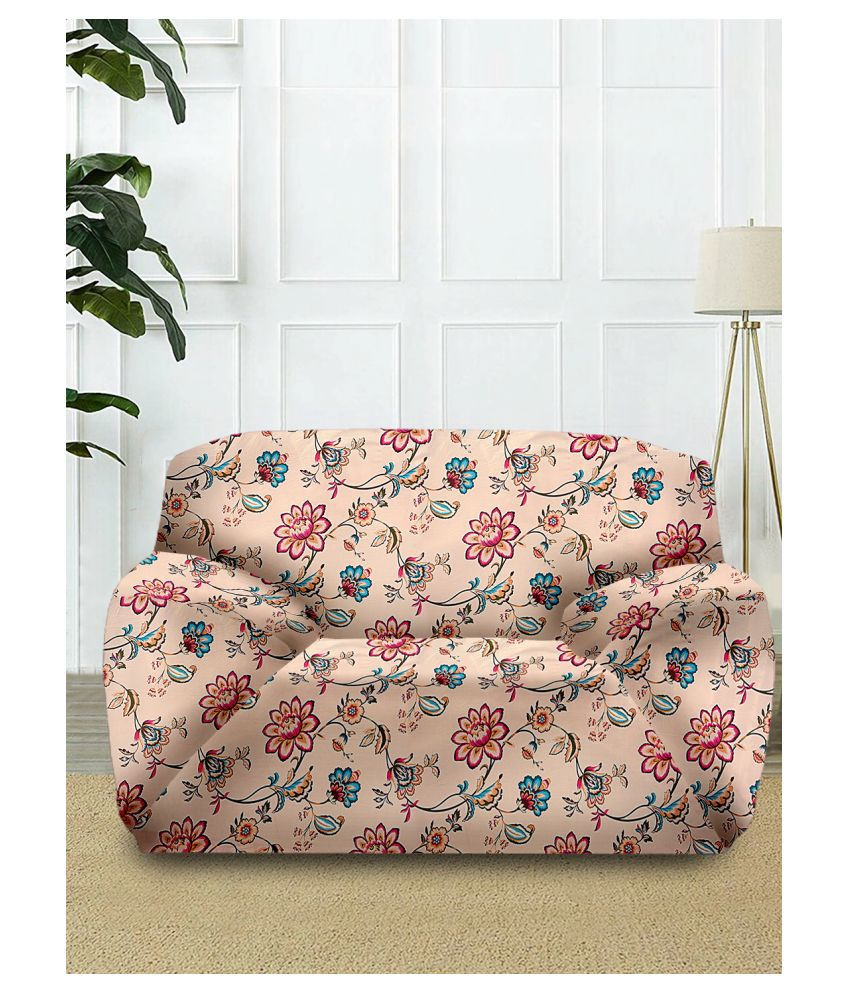 Cortina 1 Seater Beige Polyester Single Sofa Cover