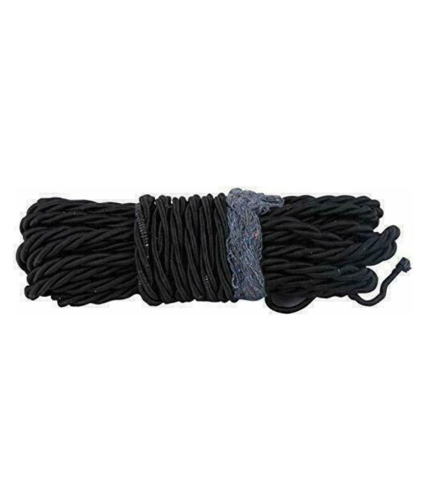 PURE BIKING Leg Guard Rope Black (28 Meter) For Royal Enfield Classic , Bullet , Standard