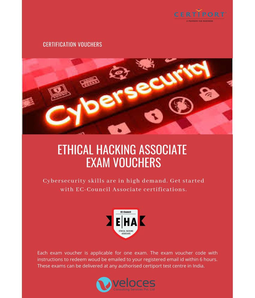 Veloces Consulting Services Private Limited Ethical Hacking Associate (EHA) Exam Voucher License/Redemption Code - Online